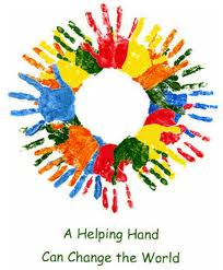 We all need helping hands as we all rely on each other for support!