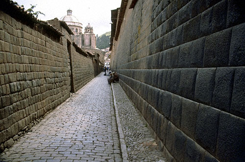 The Inca were master builders. Some of this infrastructure is still in use several centuries later. We could learn a few lessons from them. Again we see master craftsmanship.