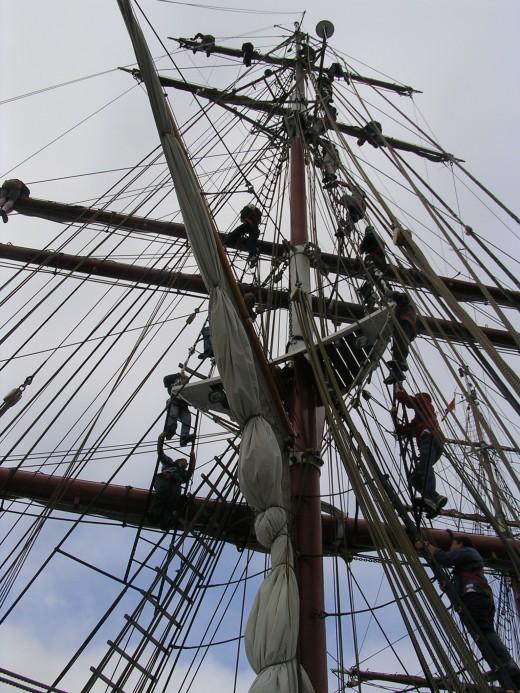 Tall Ships Race 2008: Ship's Rigging.