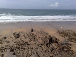 My Favorite Places in North Cornwall, Sandymouth Beach and Coast Path