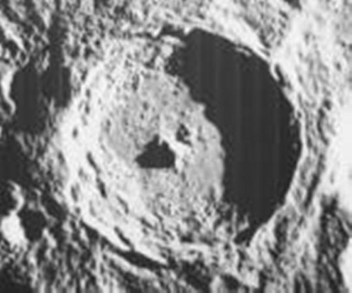 Satelite photo of the Vredefort dome