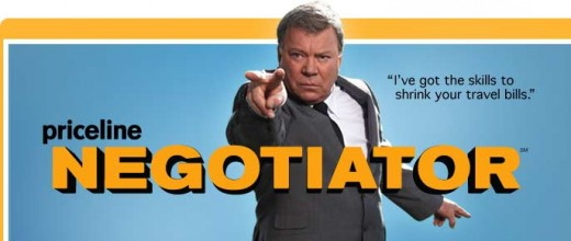 priceline negotiator photo with William Shatner