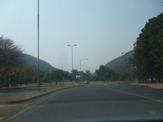 Heading to Pretoria North © Martie Coetser