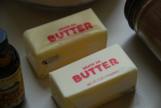 Nothing says 'love' like a stick of butter!