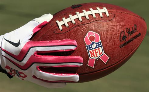 The NFL Proudly Supports Breast Cancer Awareness Month