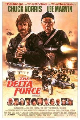 Chuck Norris Costumes - Delta Force