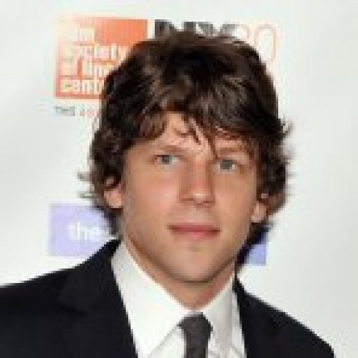 Jesse Eisenberg plays Mark