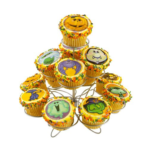 Festive Halloween Cupcakes, Sure to delight!