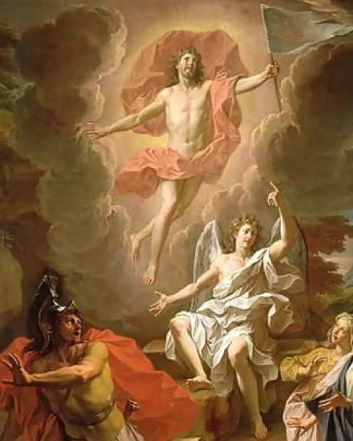 """Resurrection of Christ"" - by Noel Coypel (1700)"