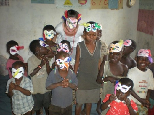 Working in orphanages is one of the many projects that HELP International does.