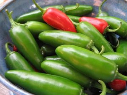J is for Jalapeno a pepper Peter Piper would pickle