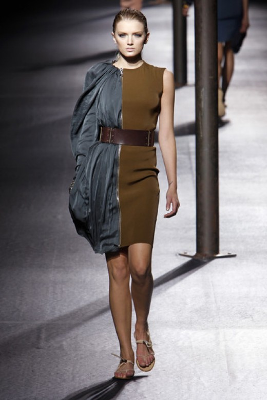 The new hybrid dress from Lanvin. Oh. Dear. God.