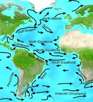 Given the flow of Atlantic currents and storm tracks, it would be easy to see how ancient sea travelers could literally be blown into the western hemisphere from Africa