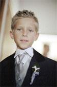Jr. groomsmen may act as ushers.