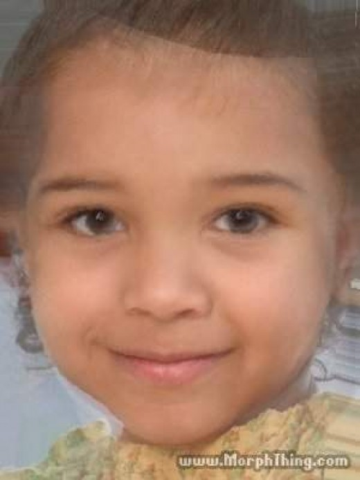 Me and My Boyfriend's child would look like this! I can do this though because we are a SERIOUS couple. You can't!