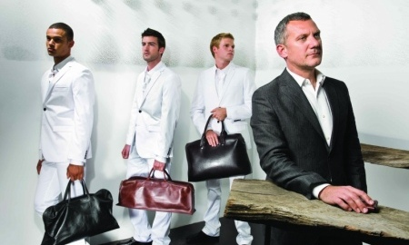 Men with handbag