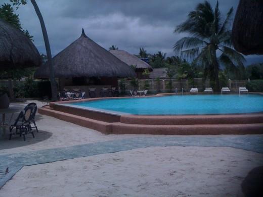 Pool bar, Linaw Resort
