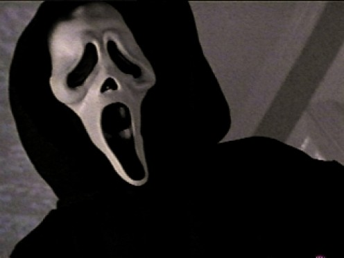 Ghostface from the Scream movies