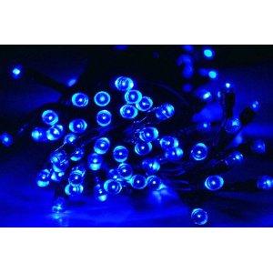 Solar Powered Christmas Lights String Light 100LED Blue