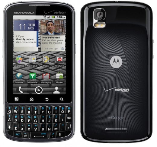 Verizon Announces the Motorola Droid Pro