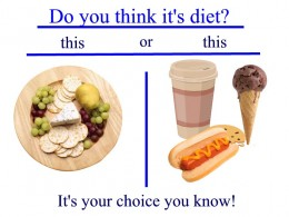 You can make the healthy choice!