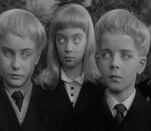 Village of the Damned...Creepy kids again