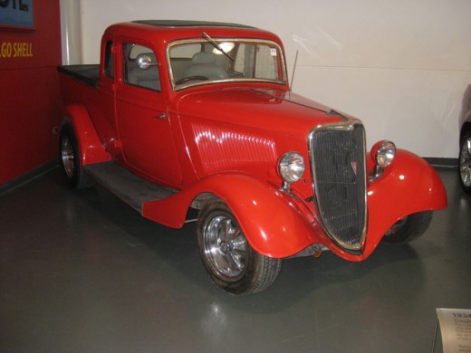 1934 Ford Coupe Utility, as displayed at the National Motor Museum at Birdwood in South Australia