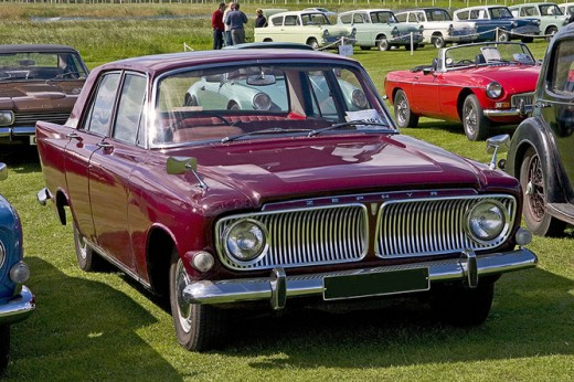 Ford Zephyr forerunner to the Falcon range of vehicles.