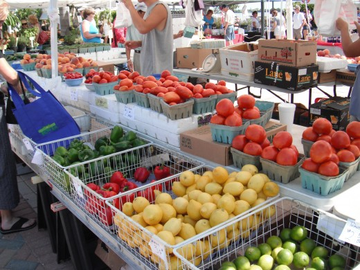 Shop Farmers Markets for  the freshest food!