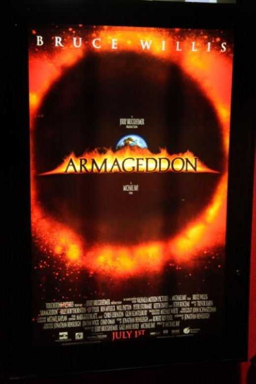 Perhaps When Worlds Collide provided inspiration for Armageddon, a movie made four decades later.