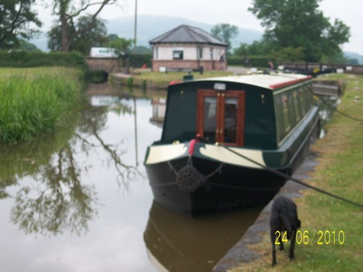 Bosley Locks - start of the 12 locks