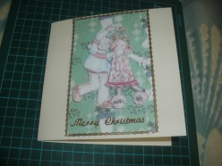 How to make beautiful hand made cards for christmas