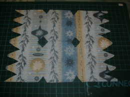 Cover with patterned paper