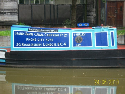 Vintage Barge