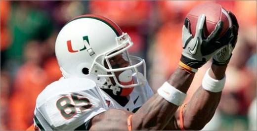WR Leonard Hankerson Miami,Fl 2010 stats: 23rec 388yds 6TD