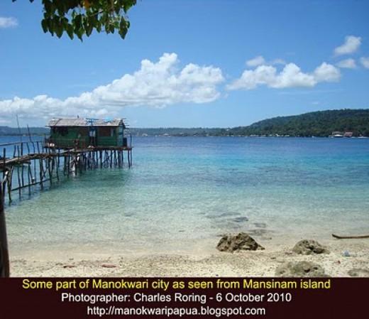 Mansinam island