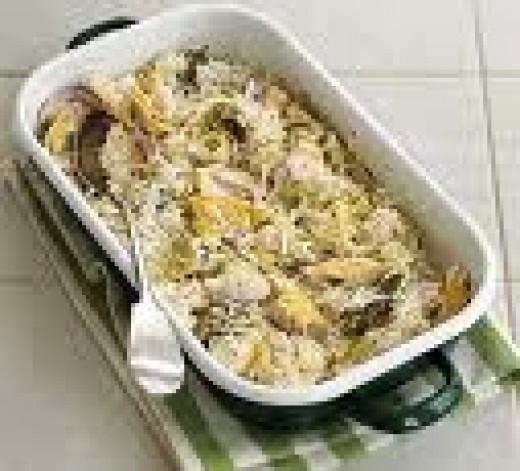 or you can serve baked haddock straight out of the baking dish