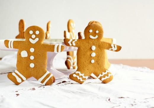 Gingerbread Man- Gingerbread cookie recipe