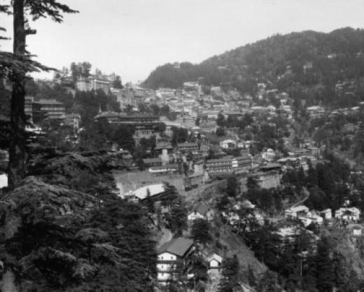 Shimla is one of the best honeymoon destinations in asia.