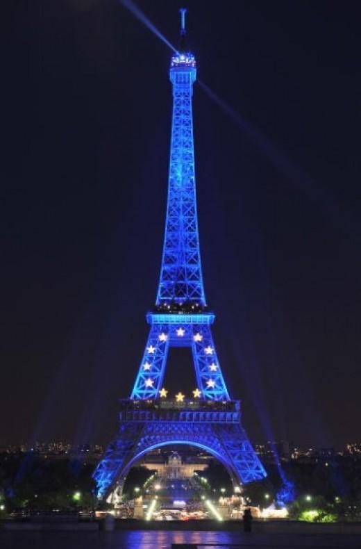 Paris is iconic a great honeymoon spot.