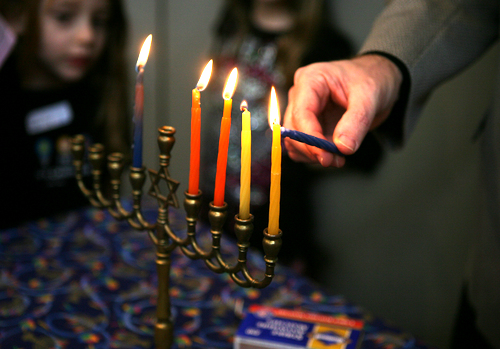 Hanukkah menorahs come in all shapes and sizes.