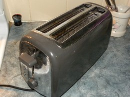 The free toaster Headquarters will give him for recruiting you. Har har.