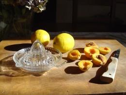 I don't like sweet jam so I use plenty of lemon