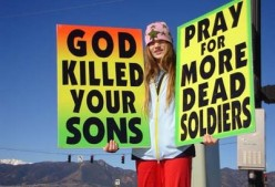 If The Westboro Baptist Church Picketed Your Son's Funeral...