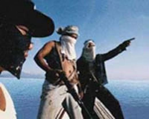 Somalian Pirates plan an Attack