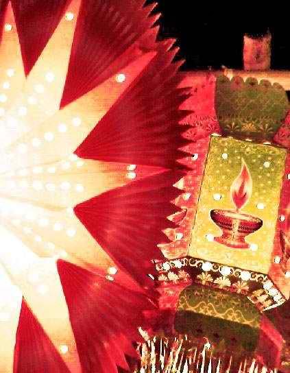 Diwali lantern - Photo taken by Bdwolverine87 (9November2009)