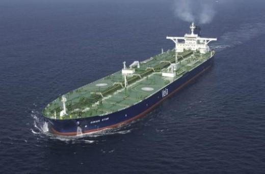 Hijacked Oil Tanker