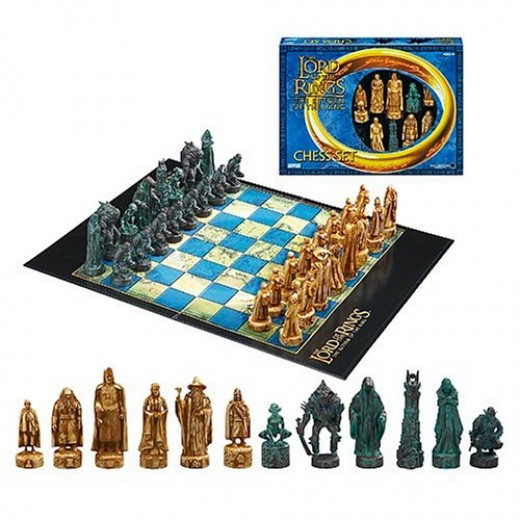 Lord of the Rings Chess Set - Return of the King