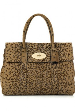 Mulberry Bayswater Leaopard Print $2250 approx.