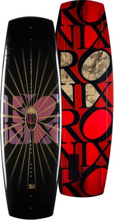 Emily Copeland Durham created the Ronix Wakeboard, Faith Hope Love collection for 2010.